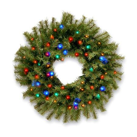 24' Led Lighted Wreath - National Tree 24