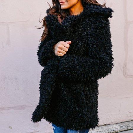 T Bird Jacket (European And American Style Autumn And Winter New Imitation Fur Coat Women's T Fashionable)