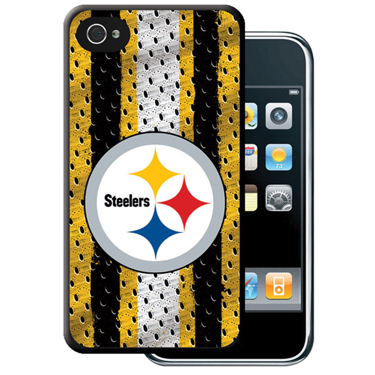 Iphone 4/4S Hard Cover Case - Pittsburgh Steelers