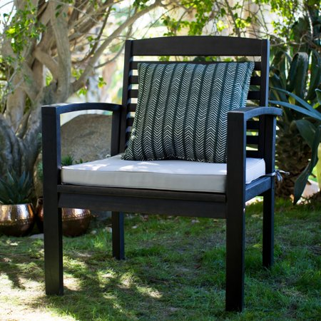 Coral Coast Milany Outdoor Wood Deep Seating Lounge Chair