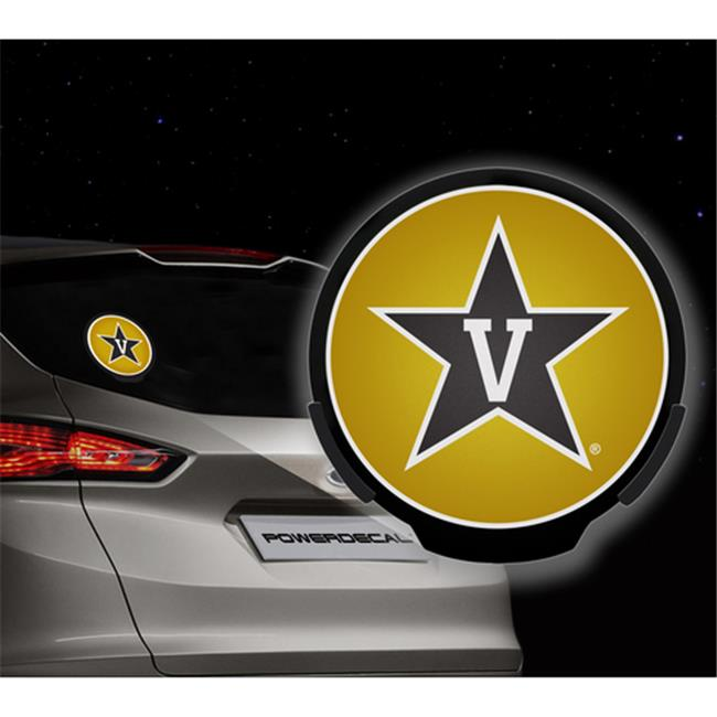 AXIZ GROUP PWR180301 LED Light-Up Decal Vanderbilt
