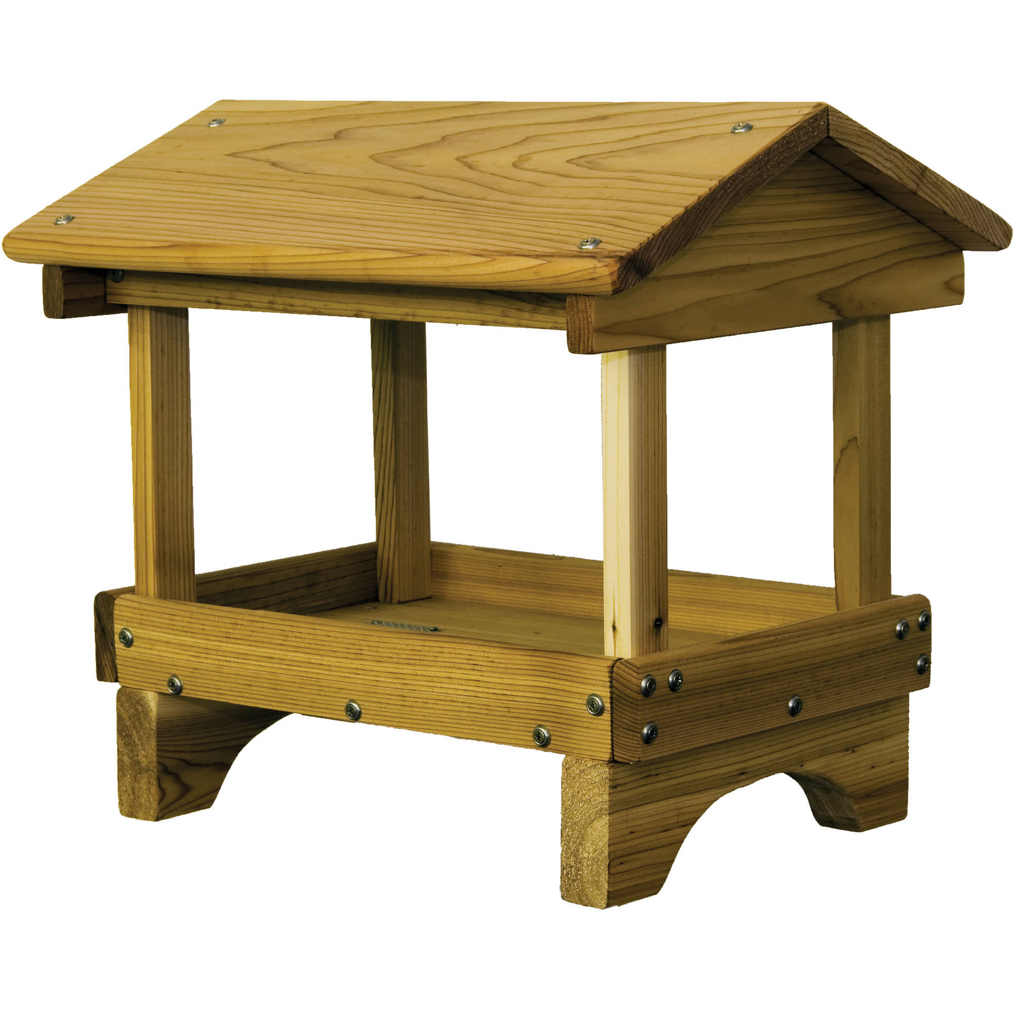 "Stovall SP5F 17"" x 15"" x 20"" Wood Pavillon Feeder"