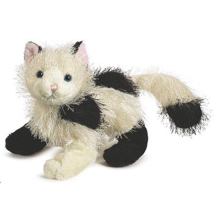 Webkinz Animal Black and White Domino Cat Animal Plush Toy With Sealed Code ()