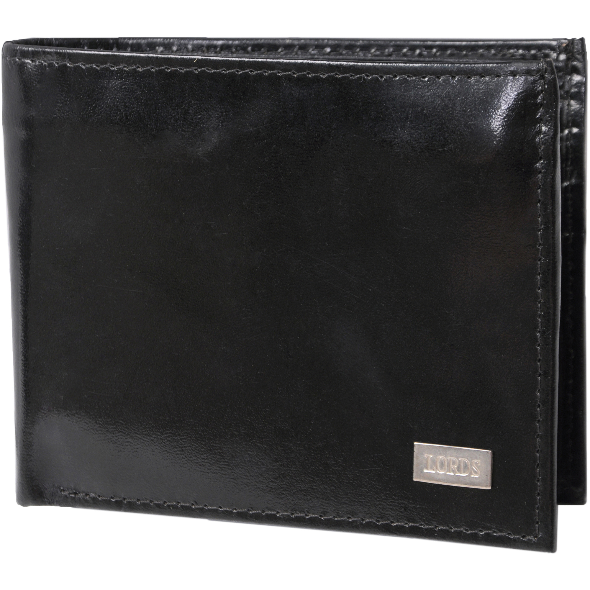 Daxx Men's Genuine Leather Horizontal Flap Bi-fold Wallet