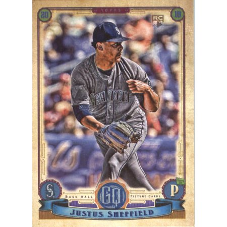 2019 Topps Gypsy Queen #187 Justus Sheffield Seattle Mariners Rookie Baseball (Best Areas To Live In Sheffield 2019)