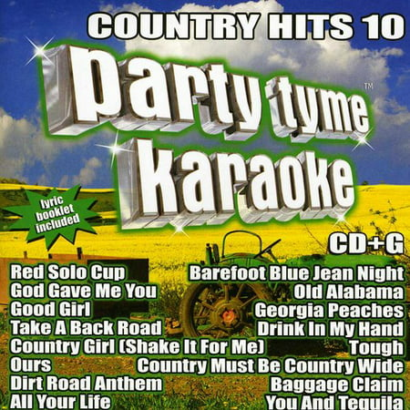 - Party Tyme Karaoke - Country Hits 10 (CD)