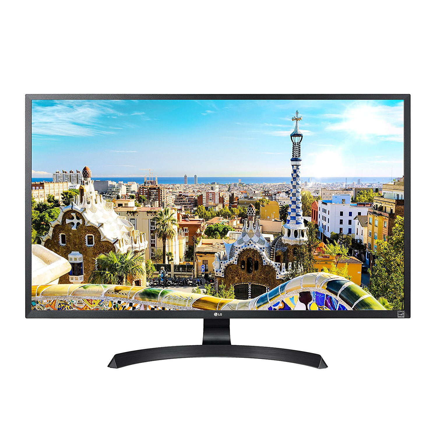 "LG 32"" 3840 x 2160, HDCP 2.2, HDMI, DisplayPort, AMD FreeSync, On-Screen Control, Screen Split 4K UHD LED Monitor"