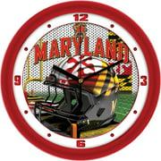 Suntime ST-CO3-MDT-HWCLOCK Maryland Terrapins-Football Helmet Wall Clock