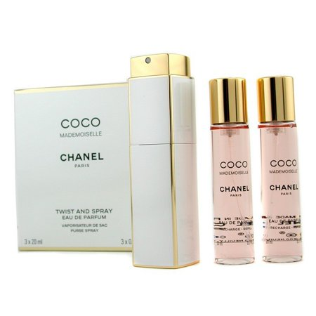 Chanel Coco Mademoiselle Twist & Spray Eau De Parfum 3x20ml/0.7oz