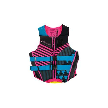 Body Glove Aqua & Pink Phantom Neoprene Women's Life (Body Glove Life Vest)