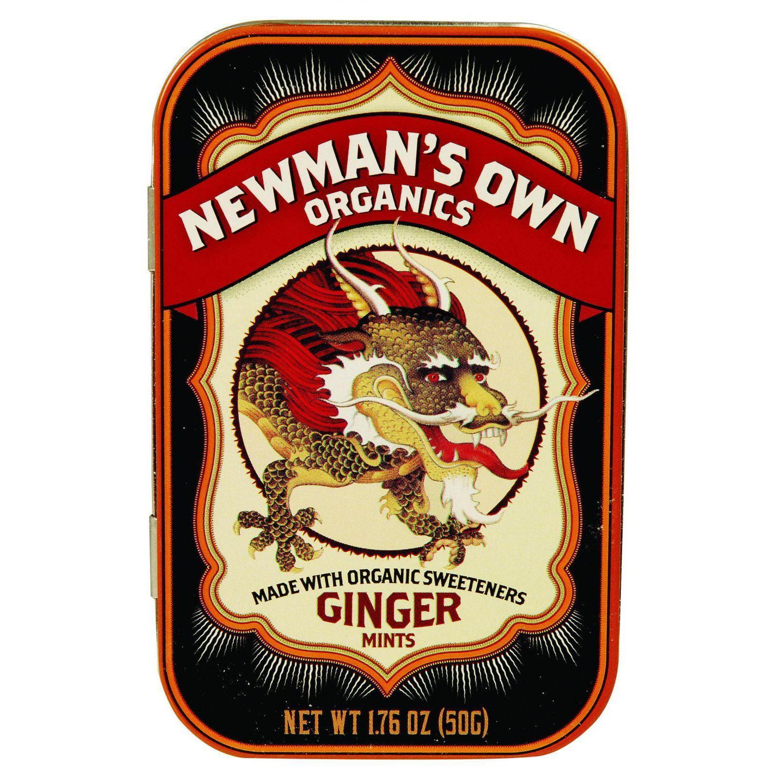Newman's Own Organics Mints - Organic - Ginger - 1.65 oz ...