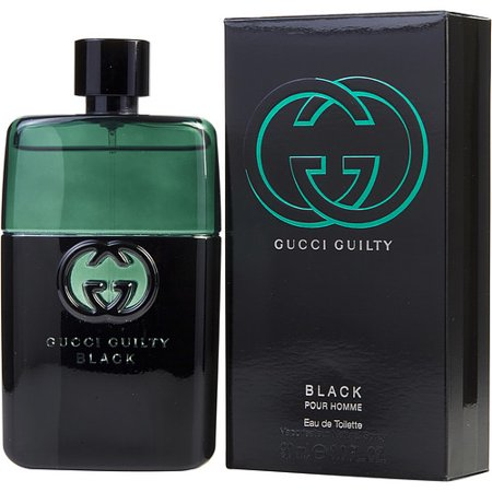 dad6cae79 GUCCI GUILTY BLACK POUR HOMME by Gucci - EDT SPRAY 3 OZ - MEN