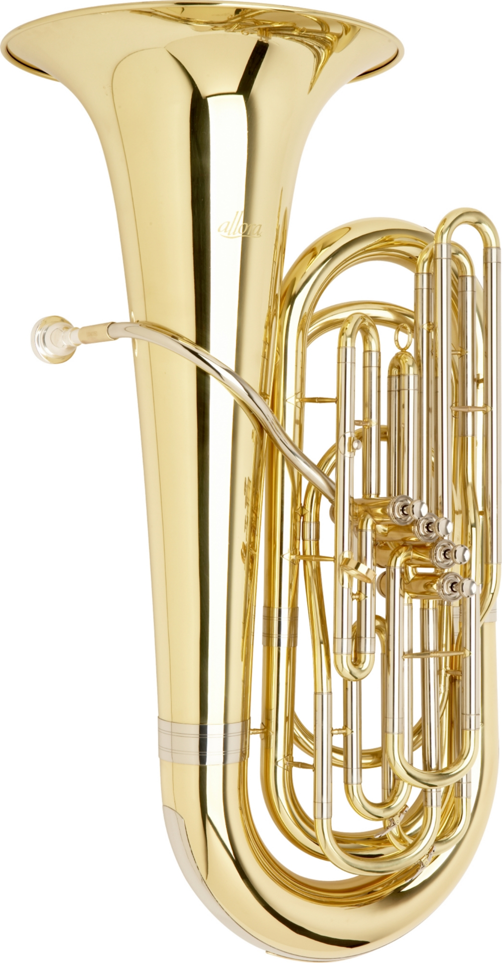 Allora AATU-105P Series 4-Piston Valve 3 4 BBb Tuba by Allora