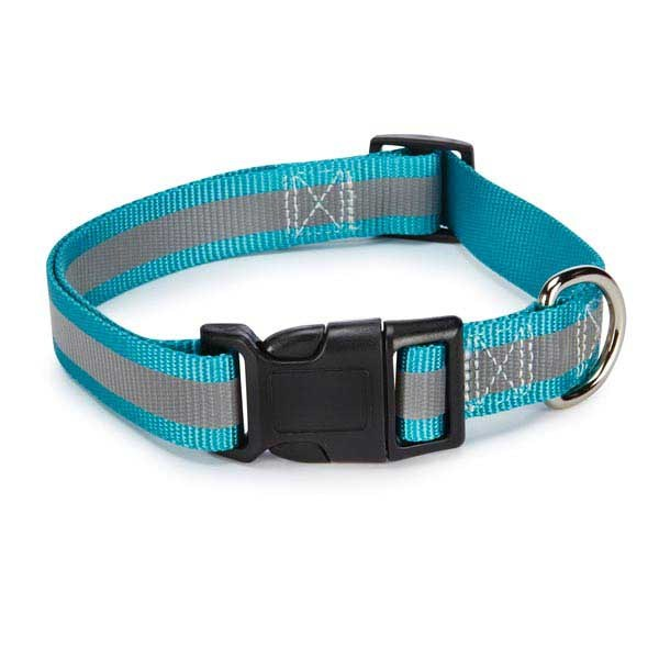Guardian Gear Brite Reflective Collar 14-20in Blu