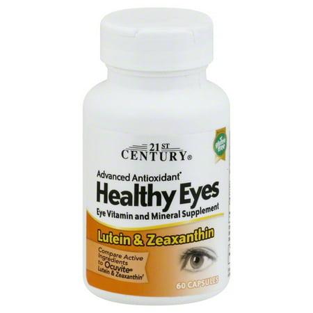 21st Century  Healthy Eyes  Lutein   Zeaxanthin  60 Capsules 21st Century Healthy