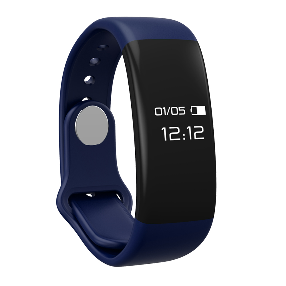 TechComm Y30 Water Resistant Fitness Activity Tracker Heart Rate Monitor