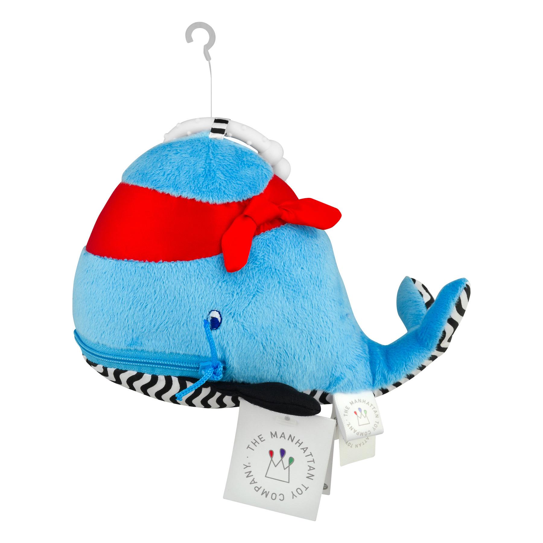 Zip & Play Waldon Whale, 1.0 CT