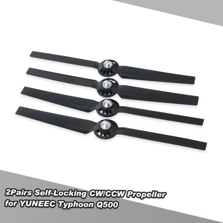 2Pairs Self-Locking CW/CCW Propeller for YUNEEC Typhoon Q500 Q500M Q5004K RC Quadcopter