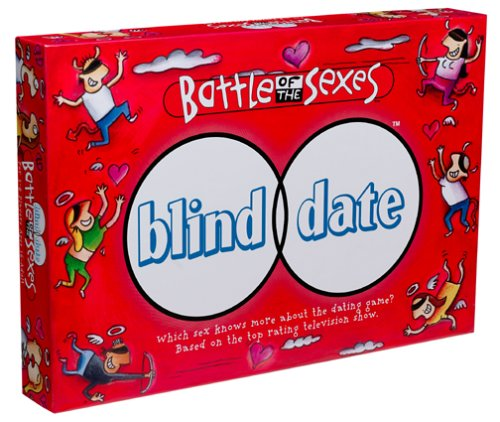 Battle of the Sexes Blind Date Board Game by University Games by
