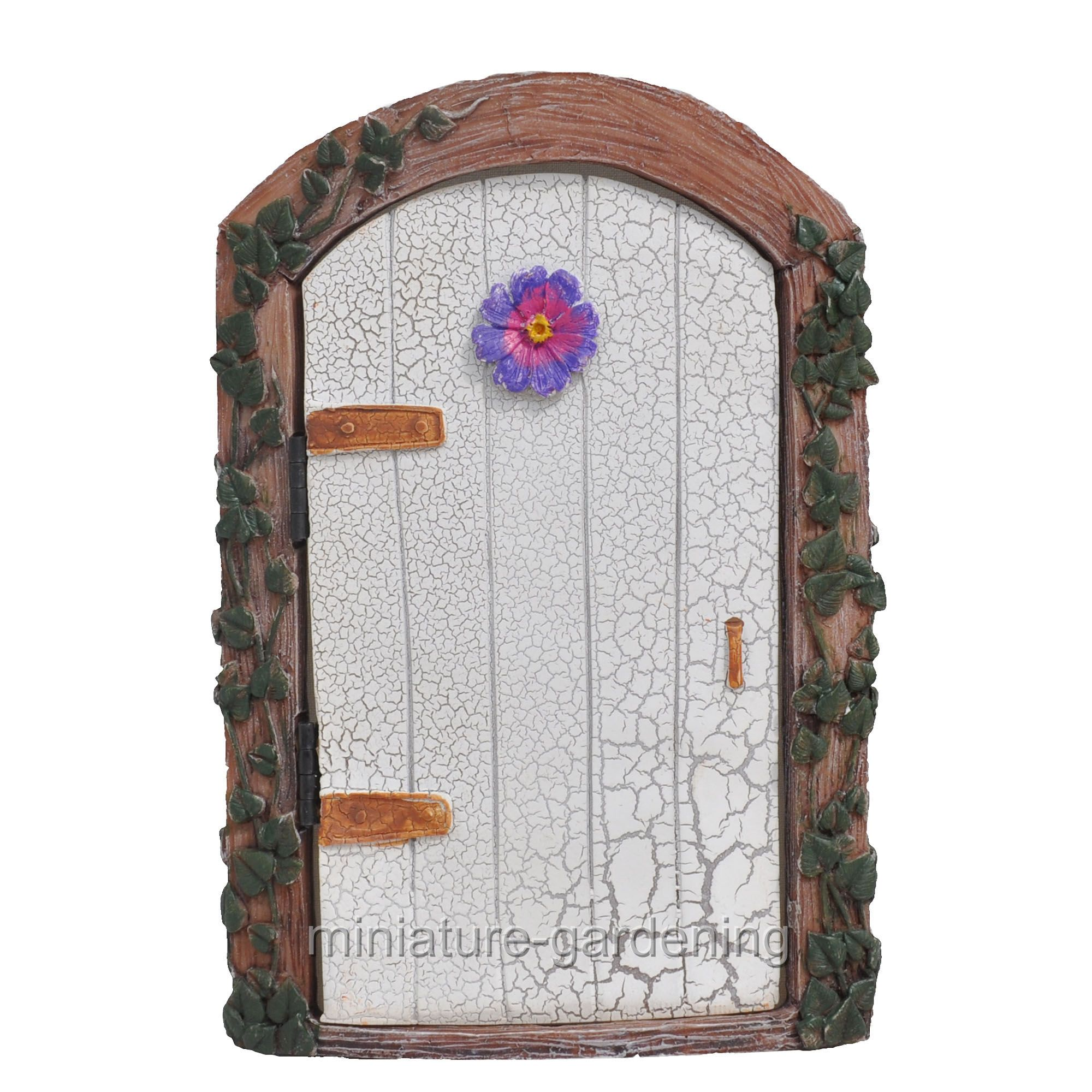Miniature Ivy Fairy Door, Color Options for Miniature Garden, Fairy Garden