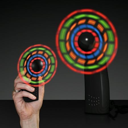 FlashingBlinkyLights Light Up LED Mini Handheld Fan](Fan Handheld)