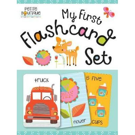 Petite Boutique: My First Flashcard (Online Children's Boutique)