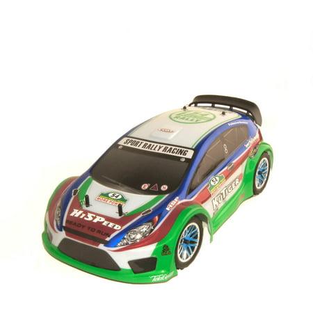 Image of 1:10 Scale RCC94177BLUE Nitro Powered Rally Car