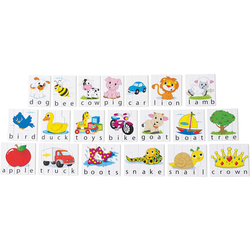 Infantino 20-Word Picture Puzzle, 81 Pieces