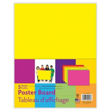 Pacon PACMMK04506 Neon Asst Poster Board 5 Colors