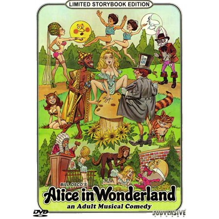 Alice in Wonderland: An X-Rated Musical Fantasy (1976) 11x17 Movie Poster (Adult Xrated)