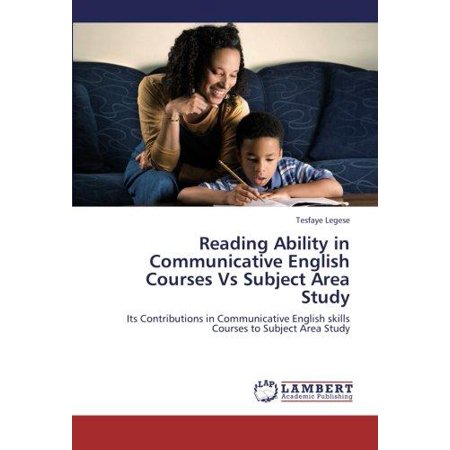 Reading Ability in Communicative English Courses Vs Subject Area