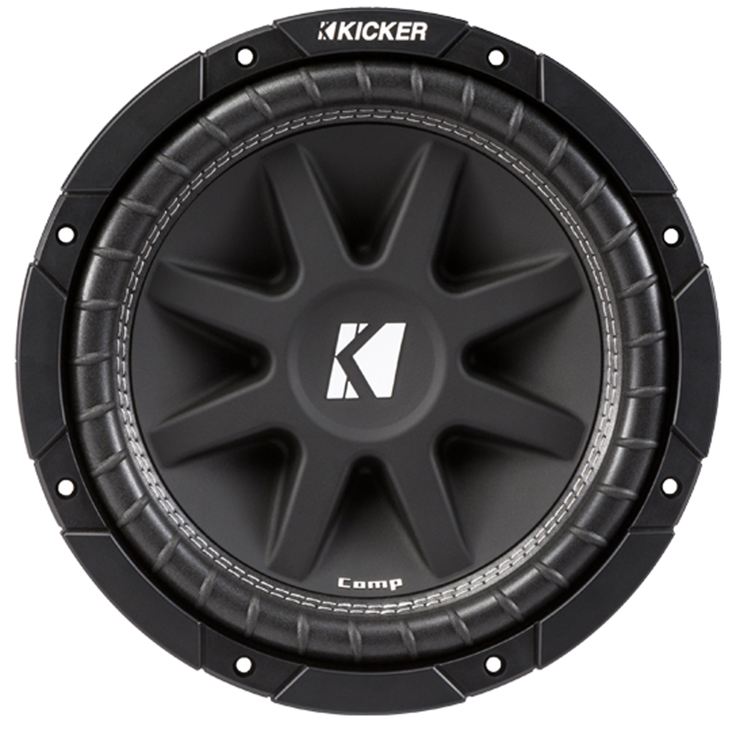 Kicker 43C104 10-Inch 300 Watts Max Power Single 4 Ohm Car Subwoofer