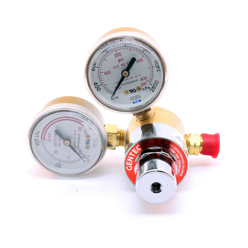 ACETYLENE ADJUSTABLE TANK REGULATOR FOR GENTEC LITTLE TORCH JEWELRY SOLDERING