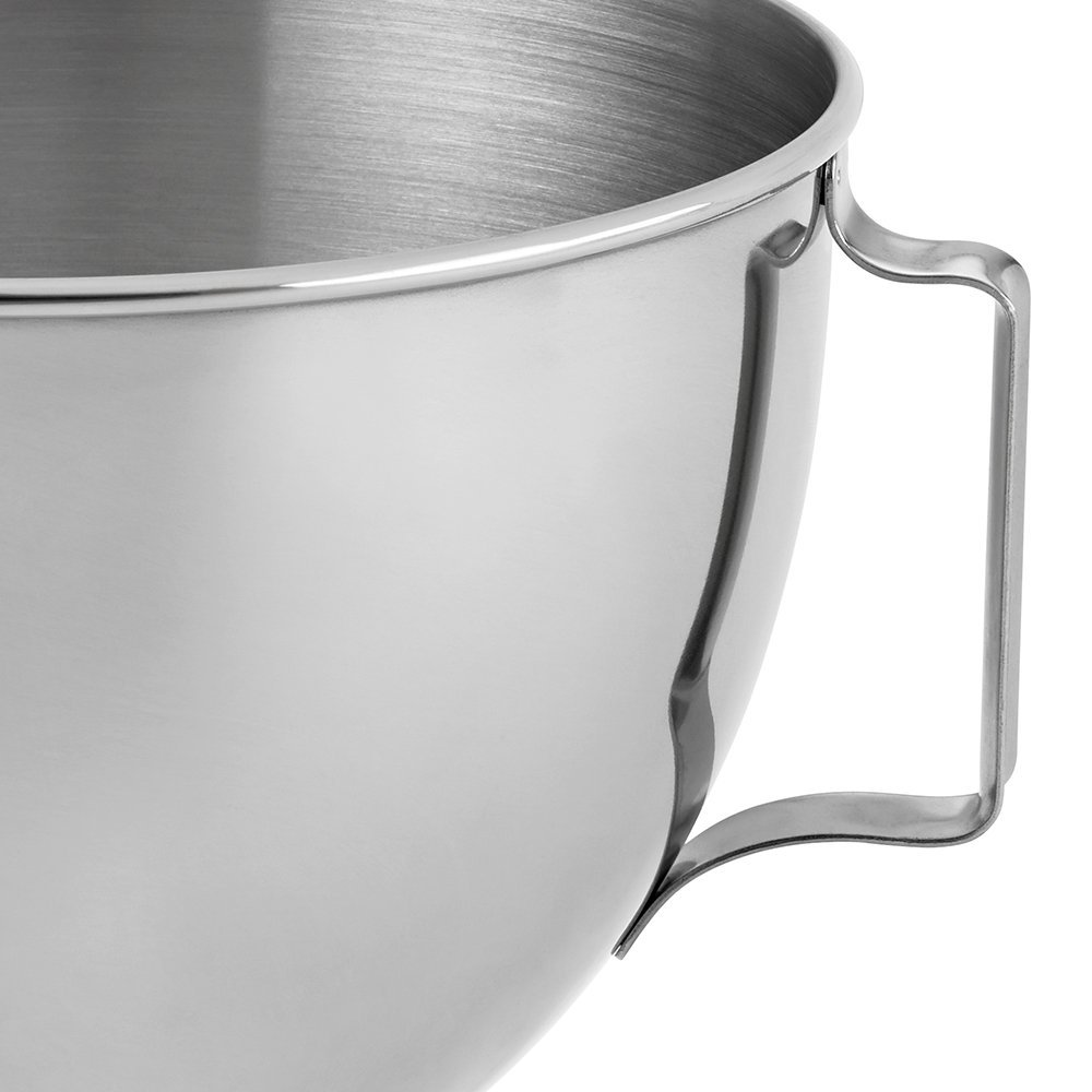 Kitchenaid 4 5 Qt Polished Stainless Steel Bowl With Handle