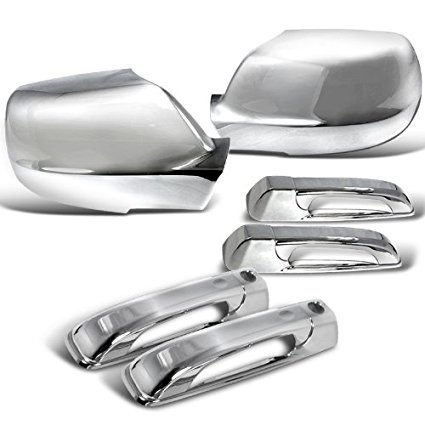Jeep Grand Cherokee Chrome Door Handles, Chrome Mirror Covers