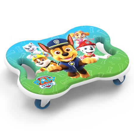 Scoot Racer Paw Patrol Scooter Board with Casters for Kids