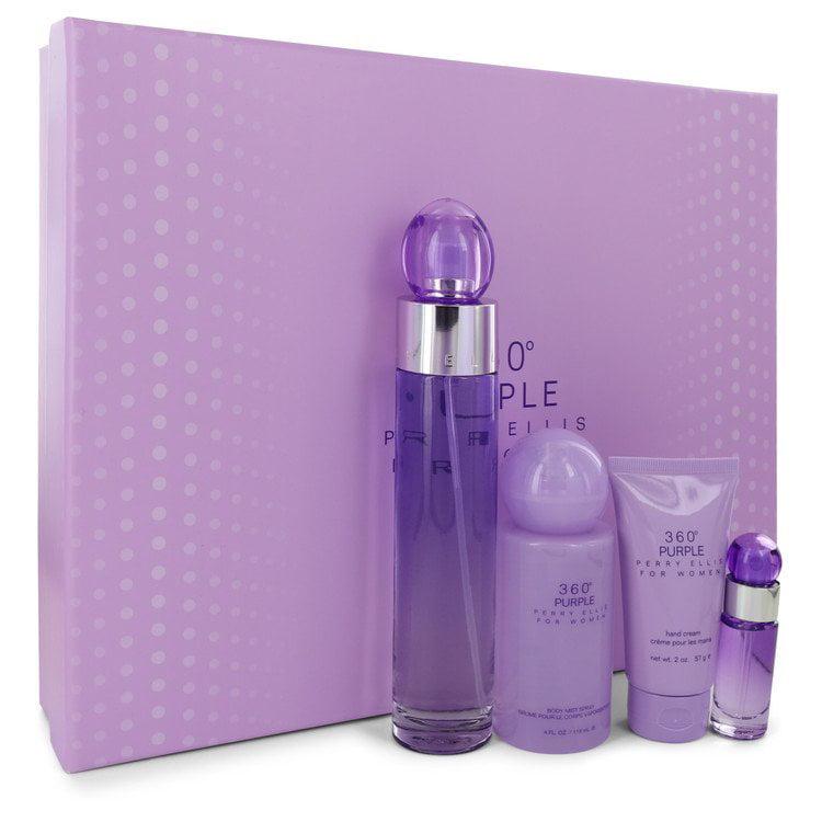 Perry Ellis 360 Purple by Perry Ellis Gift Set -- for Women