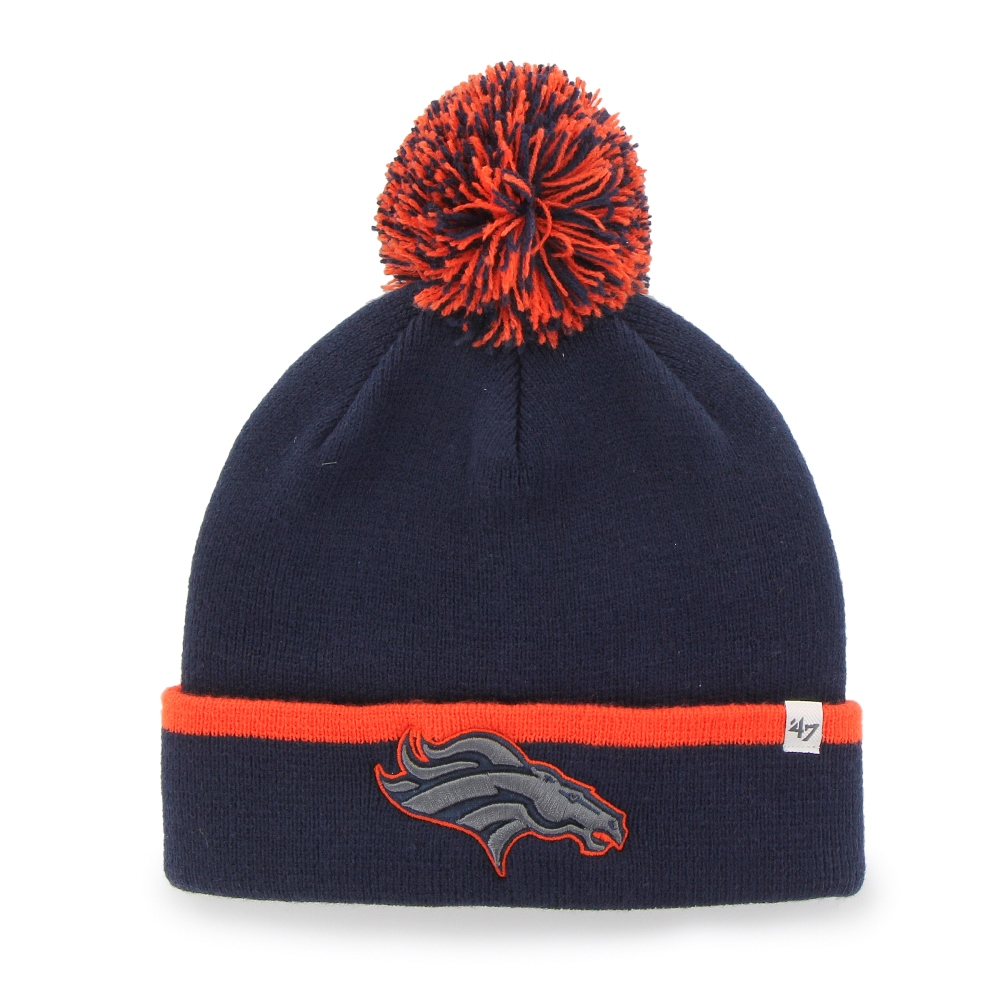 "Denver Broncos 47 Brand NFL ""Baraka"" Cuffed Knit Hat with Pom by 47 Brand"