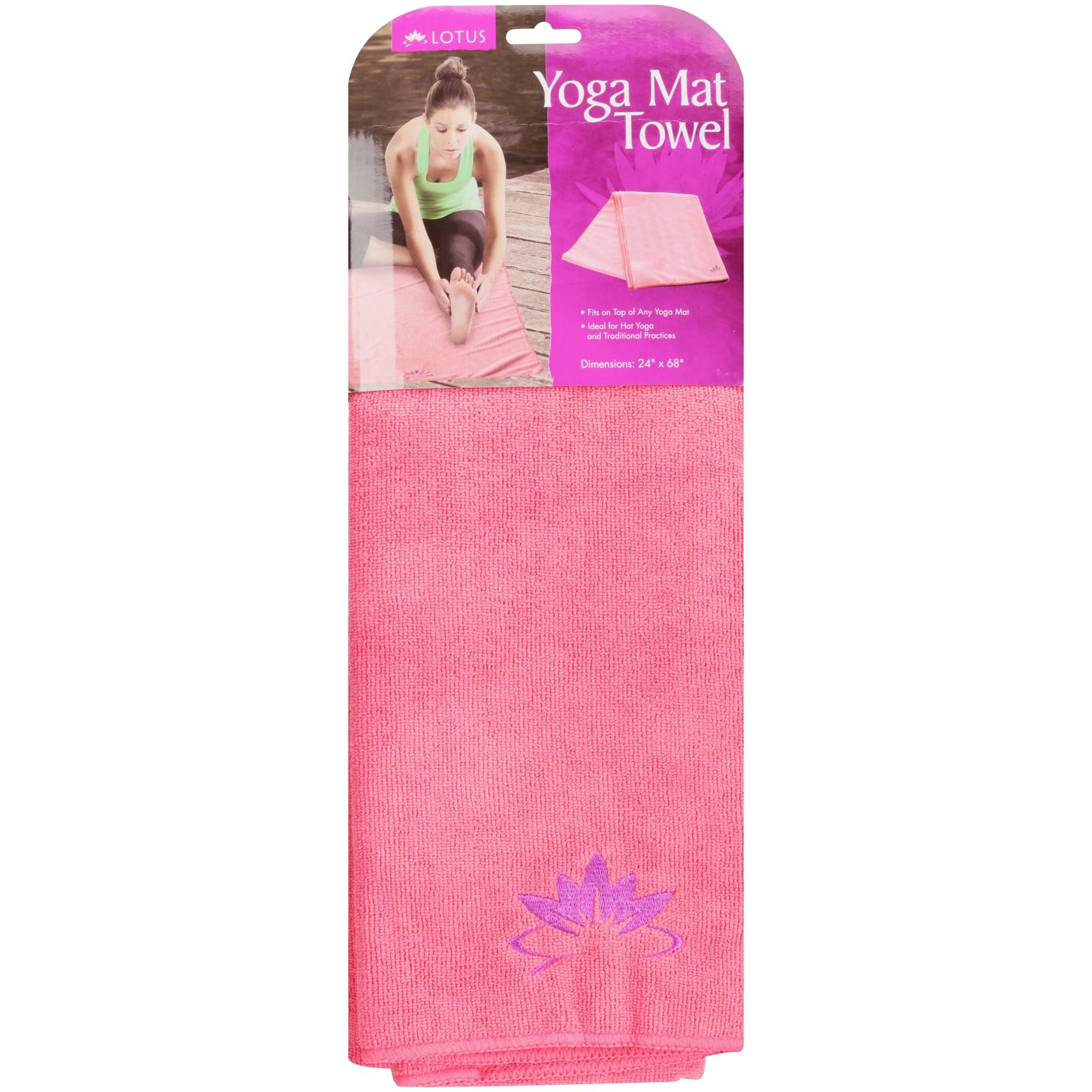 Lotus 24 X 68 Yoga Mat Towel Walmart Com Walmart Com