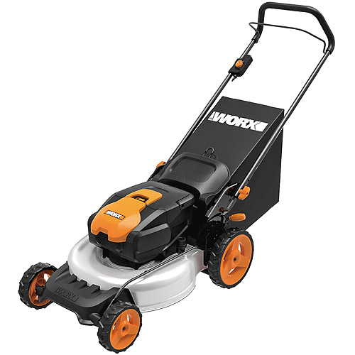 "Worx 19"" 36V Cordless Electric Mower"