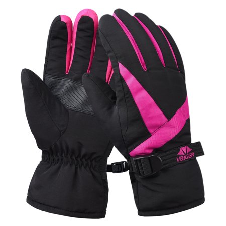 Kombi Ski Gloves (Glove, Women's Waterproof Cuffed Ski Glove Winter Warm Sports Gloves )