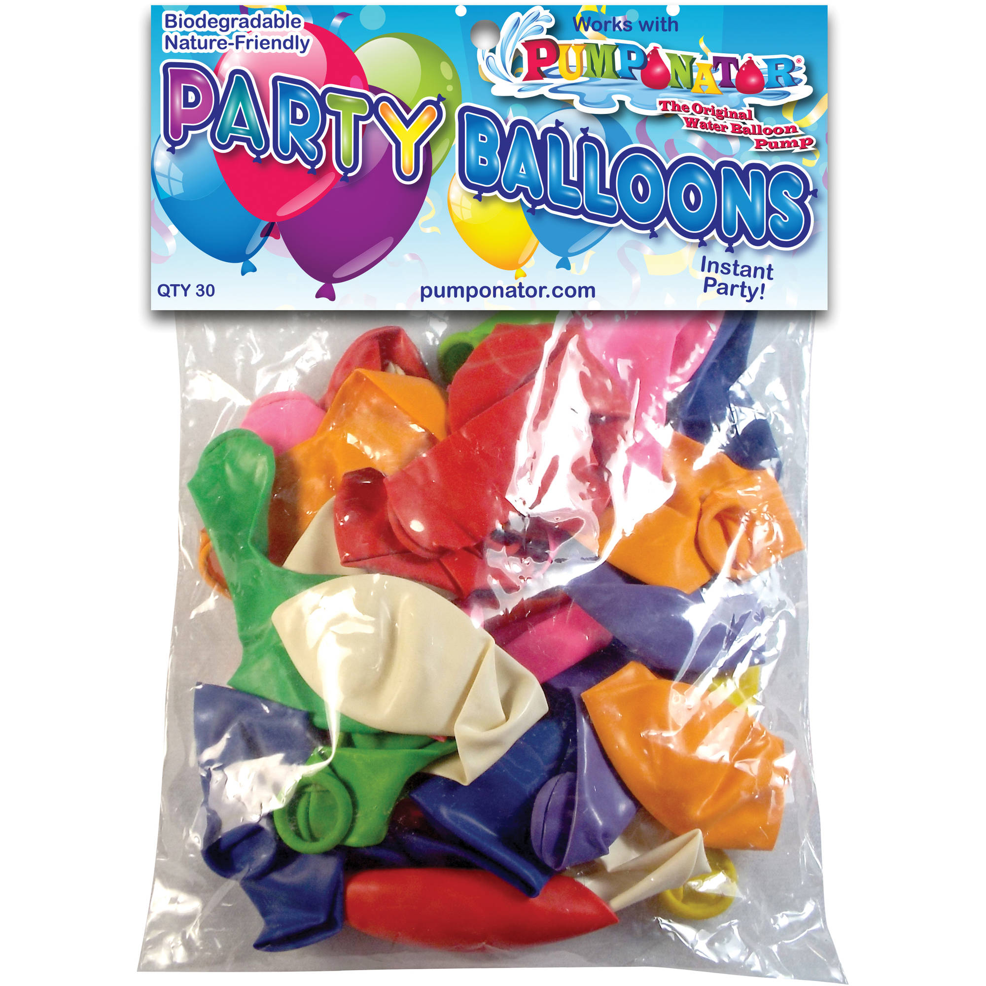 "Pumponator MB912 9"" and 12"" Big Balloons, Assorted Colors"