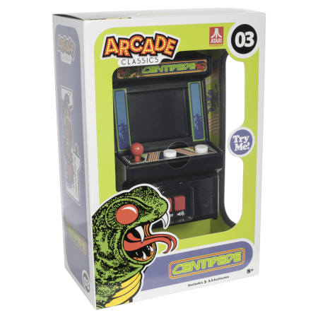 Alien Arcade Game - Arcade Classics - Centipede Mini Arcade Game