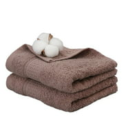 Newly Upgraded Version Cotton Skin-Friendly Japanese Bath Towel Thick Absorbent Bath Towel Beach Towel High Absorbent Cotton Towel Coffee Color 74*33Cm