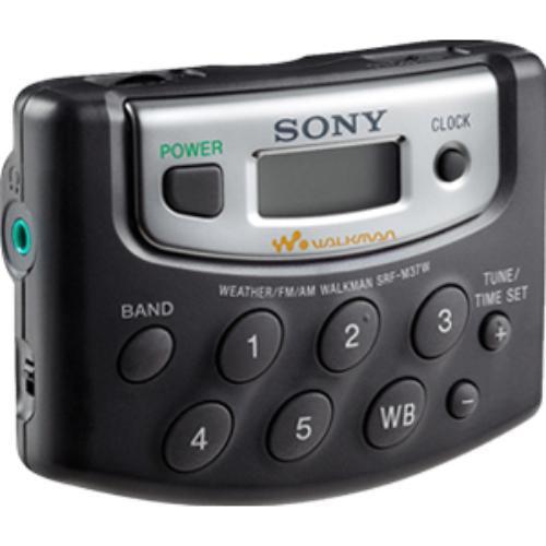Sony Srfm37v Radio/walkman (srfm37w)