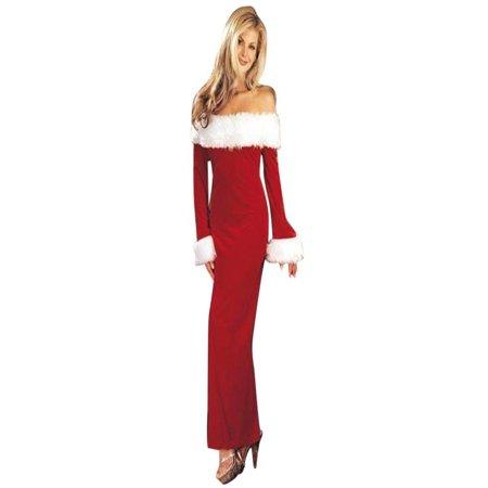 Iuhan Women Christmas Warm Off Shoulder Long Sleeve Party Dress - Womens Christmas Dresses