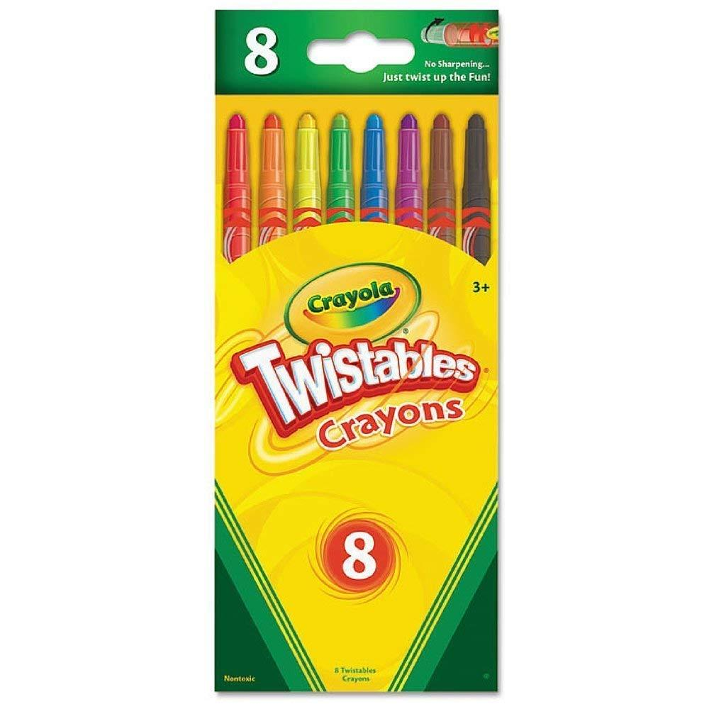 Crayola Twistables Crayons (Pack Of 3)