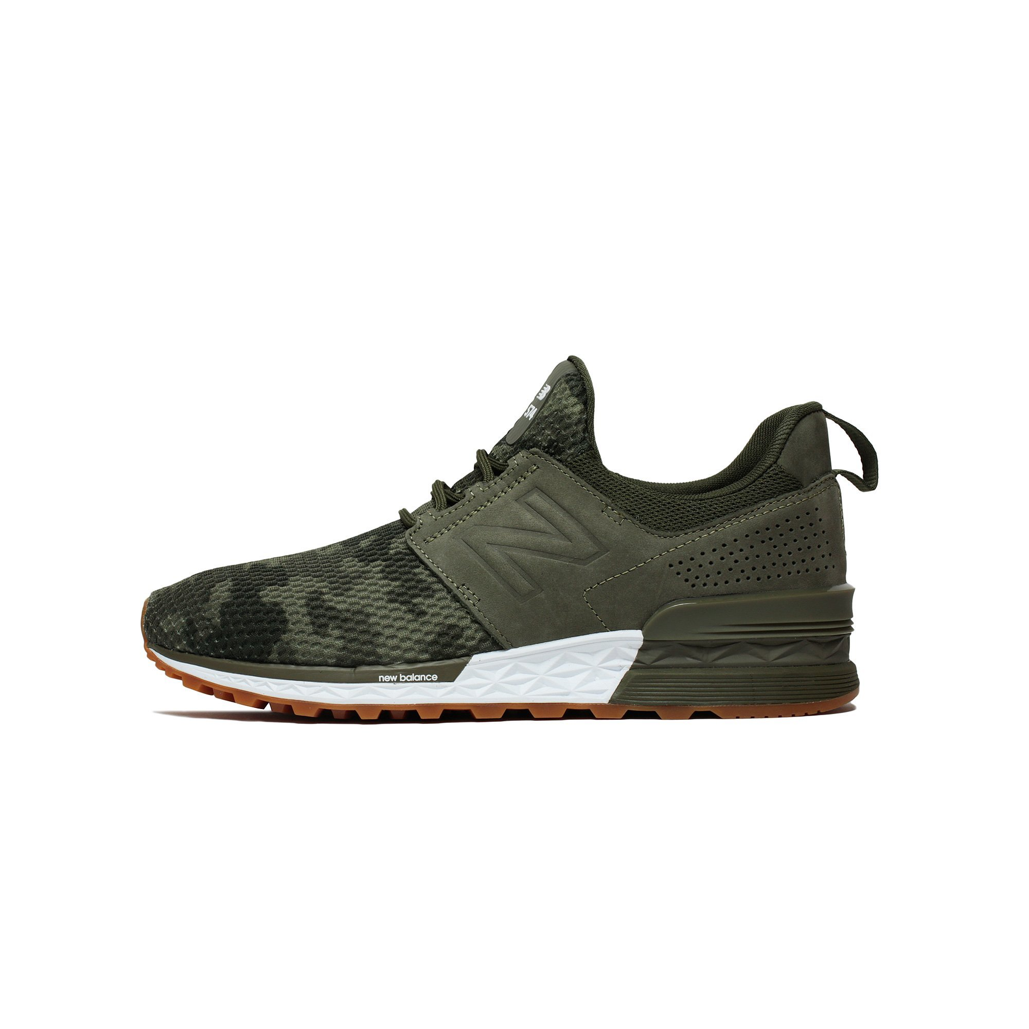 free shipping ef95a e0207 NEW BALANCE 574 Sport Decon Men | Military Foliage Green (MS574DCG) (12-Men)