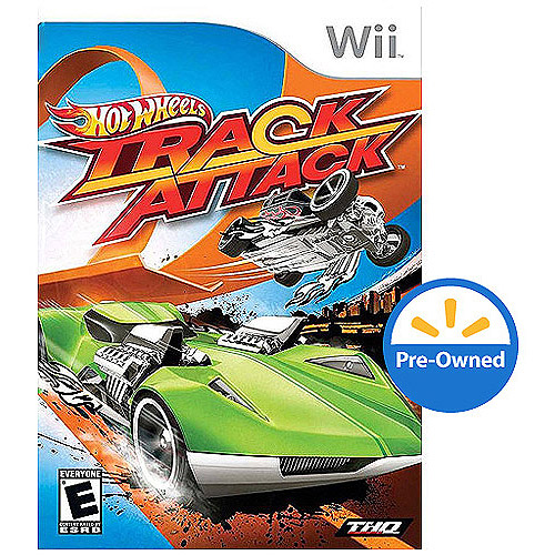 Hot Wheels Track Attack  (wii) - Pre-own