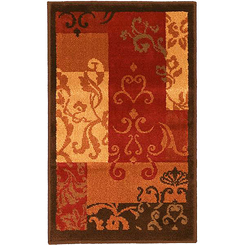 Better Homes and Gardens Scroll Patchwork Rug